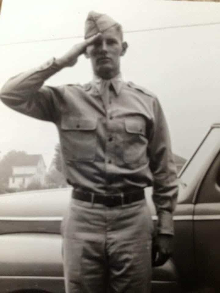 My dad - a WWII hero